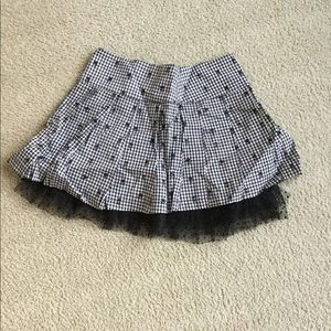 Dresses & Skirts - Gray plaid miniskirt